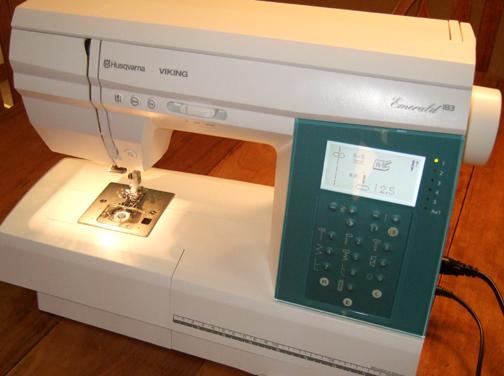 Fun Machine Boring Project Rachel Swartley Stunning Viking Emerald 183 Sewing Machine For Sale
