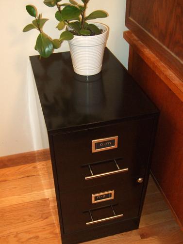updating my file cabinet handles - rachel swartley