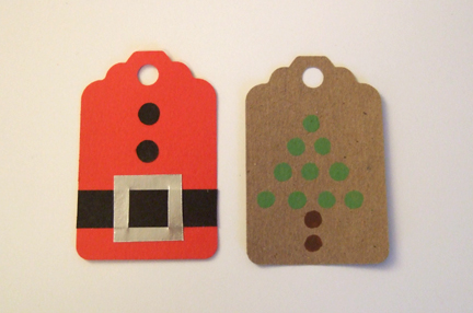 advent day 10 make christmas gift tags rachel swartley